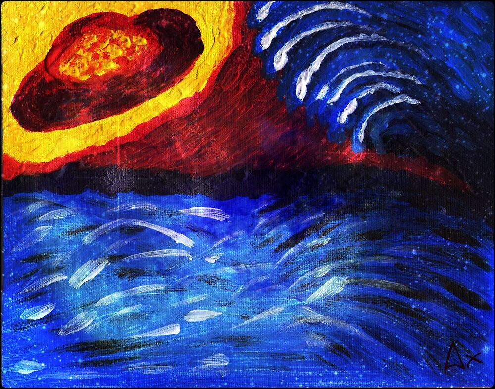 rip tide by Anette Ax Richardsdotter