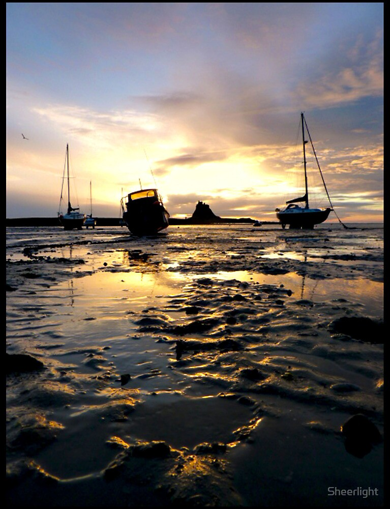 Lindisfarne, Holy island by Sheerlight