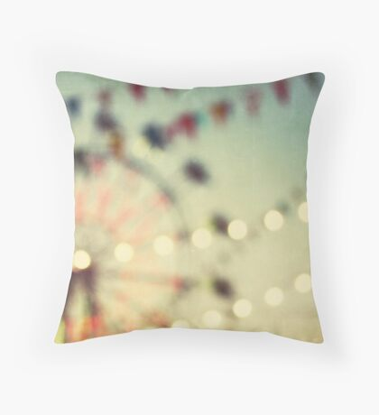carnival dreams Throw Pillow