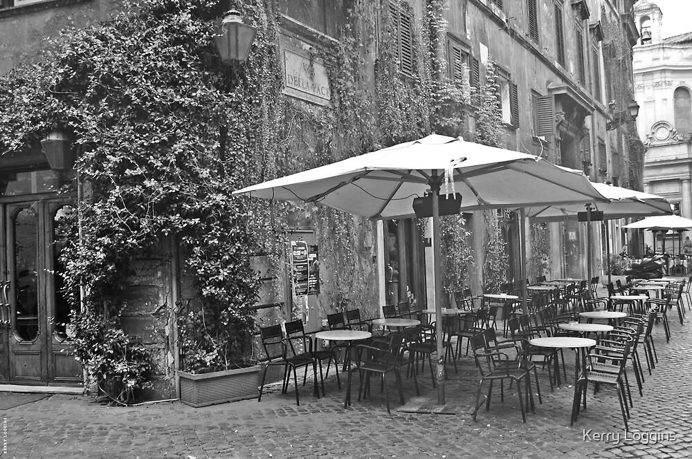 Italian Cafe by Kerry Loggins