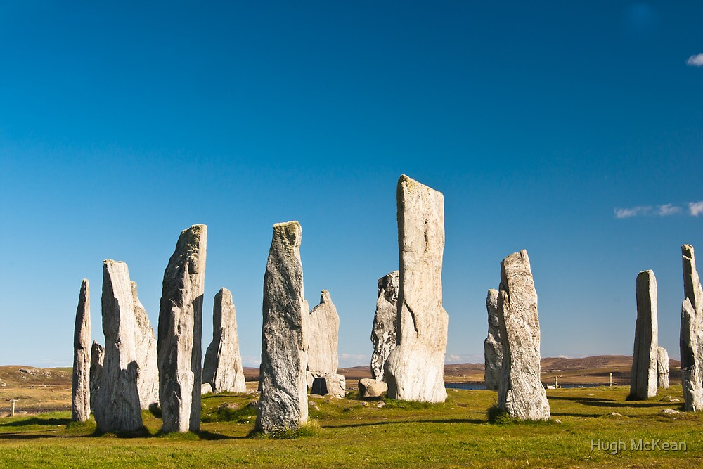 The Callanish standing stones by Hugh McKean