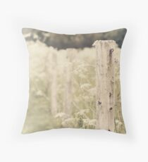 Whitewashed Throw Pillow