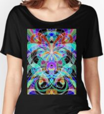 Ethnic Style Women's Relaxed Fit T-Shirt