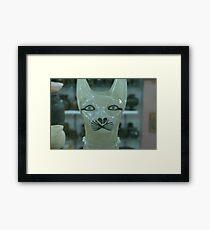 Egypt Cat Framed Print