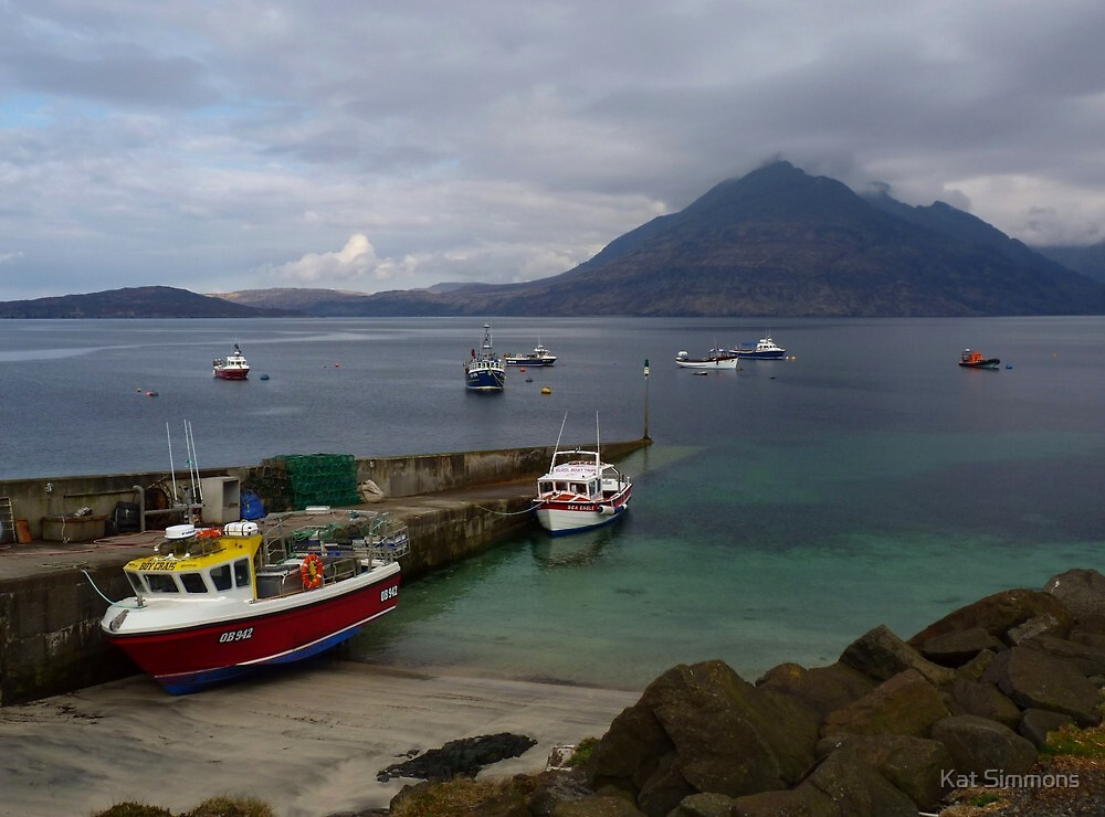 Elgol Harbour I - Isle of Skye by Kat Simmons
