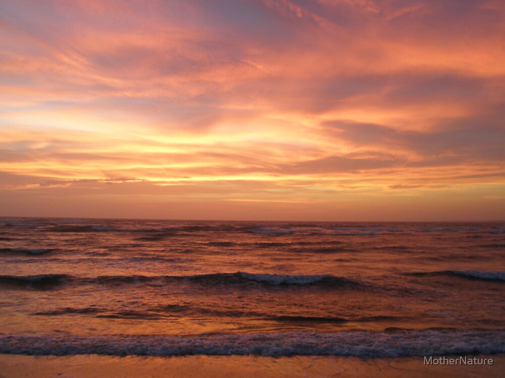 Outer Banks Sunset - Buxton - Hatteras Island by MotherNature