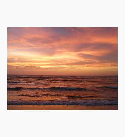 Outer Banks Sunset - Buxton - Hatteras Island Photographic Print