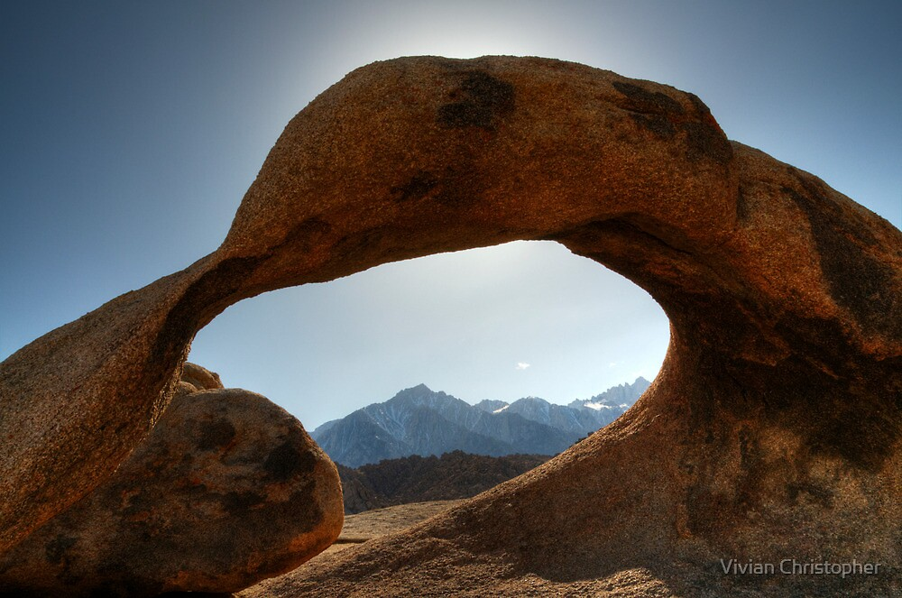 Through Mobius Arch by Vivian Christopher