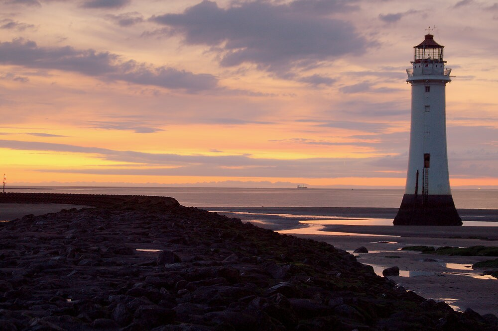 Perch Rock Lighthouse, New Brighton by Andrew Cooper