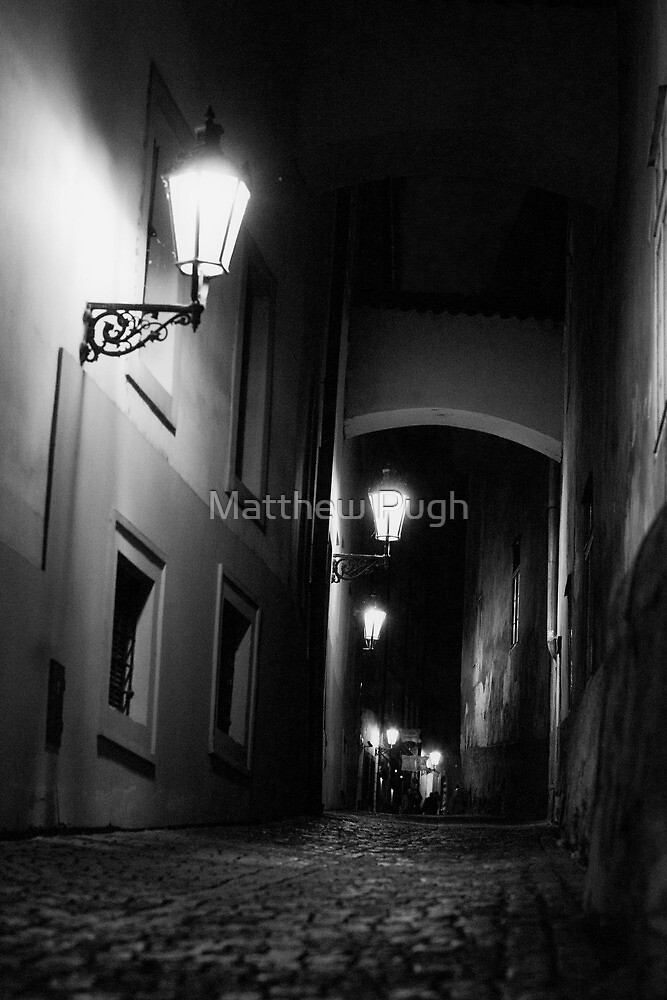 Prague by Night II by Matthew Pugh