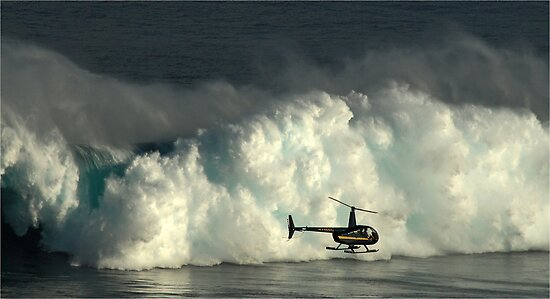At Peahi by Vivian Christopher