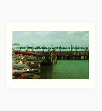Harbor Sites Art Print