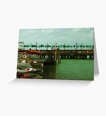Harbor Sites Greeting Card