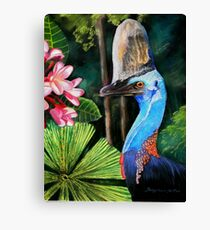 Southern Cassowary  (Hung.. Mall Gallery London) Canvas Print