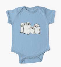 Owlets One Piece - Short Sleeve