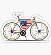 Love Bike, Love America Sticker