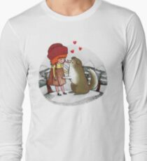 Red Riding Hat Long Sleeve T-Shirt