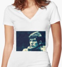 Ian Mckellan Women's Fitted V-Neck T-Shirt