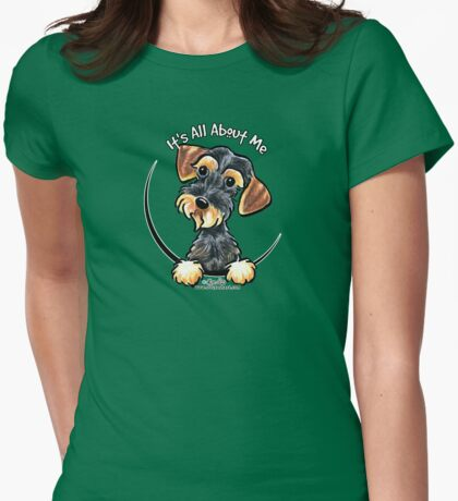 Wild Boar Wirehaired Dachshund :: It's All About Me T-Shirt