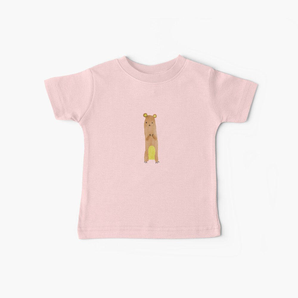 Slewfoot the Grizzly Cub Baby T-Shirt