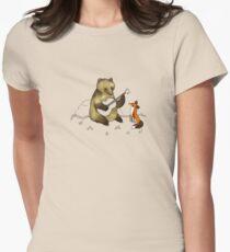 Bear & Fox Women's Fitted T-Shirt