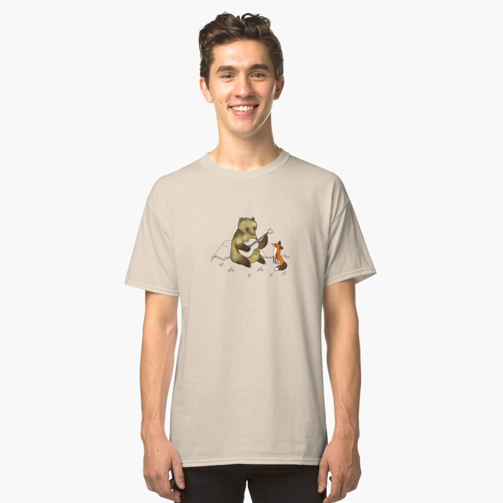 Bear & Fox Classic T-Shirt Front