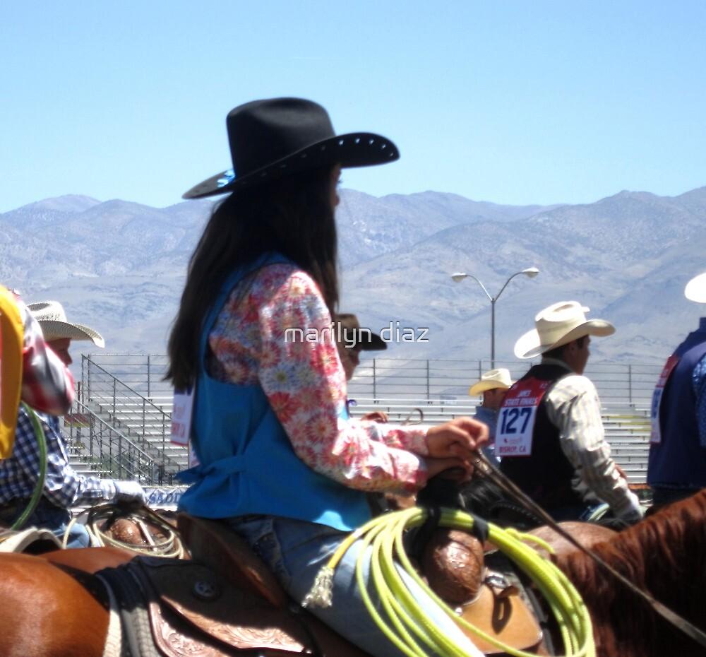 Cowgirl by marilyn diaz