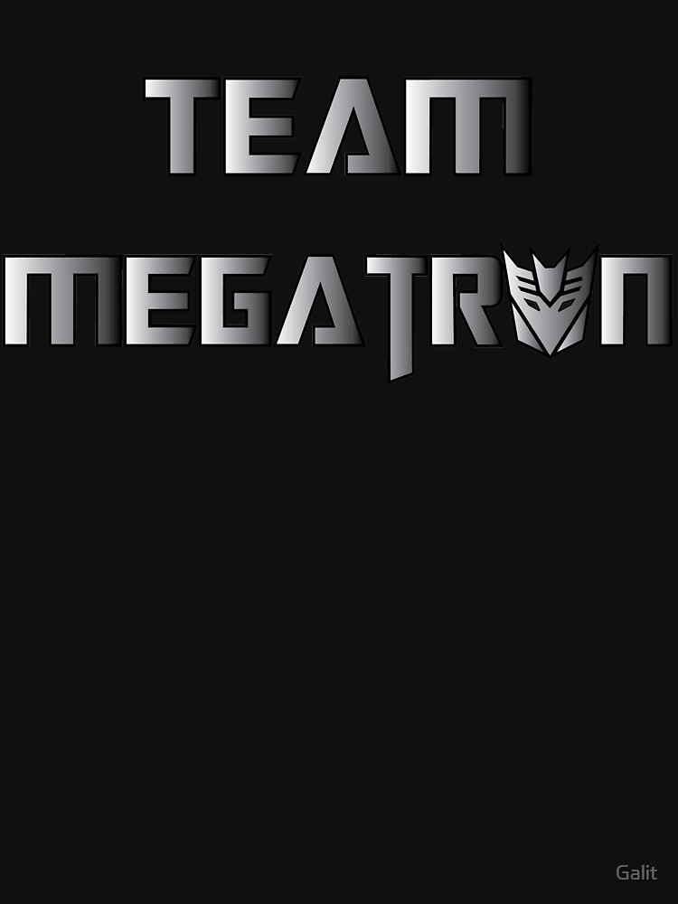 Team Megatron (metal) by Galit