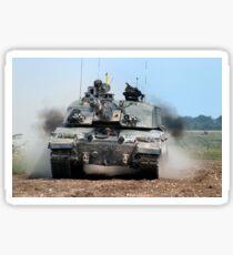 British Army Challenger 2 Main Battle Tank Sticker