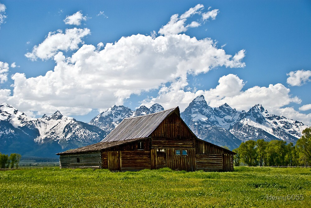 Mormon Barn  by jdenny6055