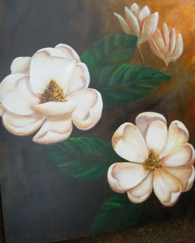 White Magnolias by patty123
