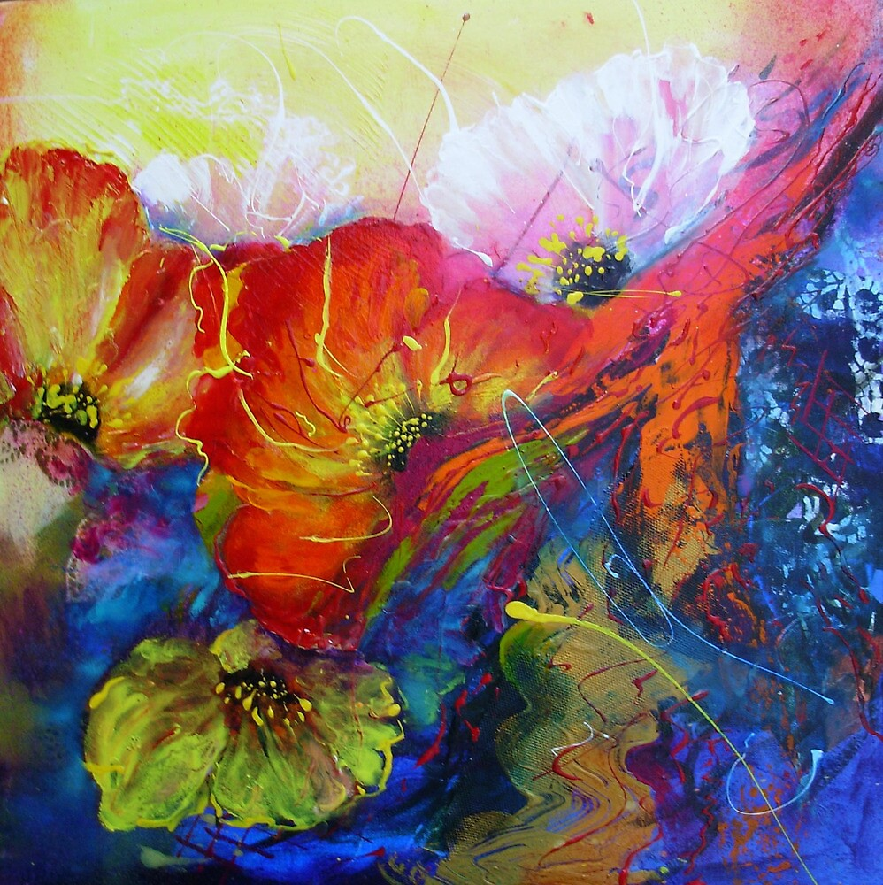 Colourfull Poppies by patty123