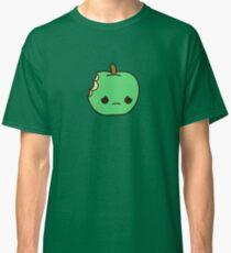 Cute sad apple Classic T-Shirt