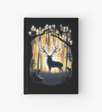 Deer God Master of the Forest Hardcover Journal