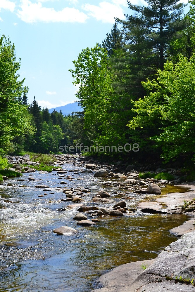River Nestled in Hidden in The Mountains by steffanianne08