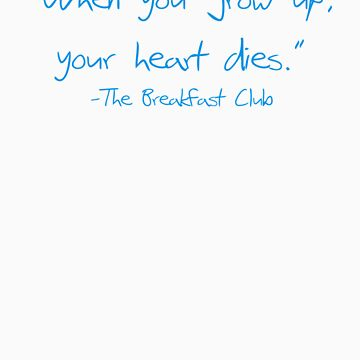 Your heart dies. by lettersbytens