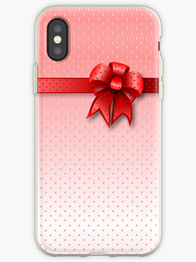 Case Red Bow by MEDUSA GraphicART