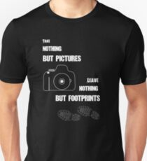 TAKE NOTHING BUT PICTURES T-Shirt