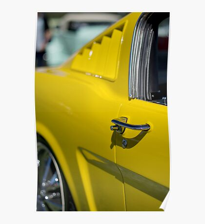 Yellow Mustang - Get a grip Poster