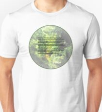 Genesis 1 9-13 ... and let the dry land appear Unisex T-Shirt