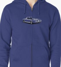 Chevrolet Corvair Zipped Hoodie