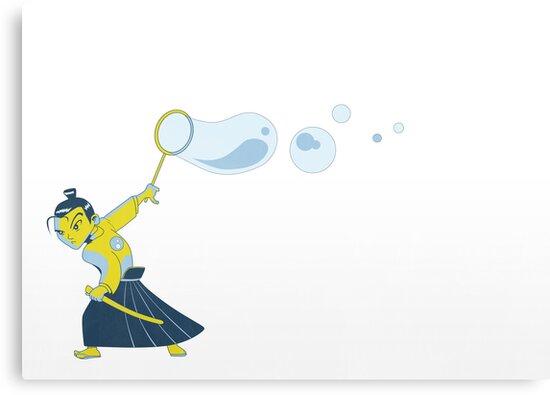 Bubble Samurai by Damien Mason