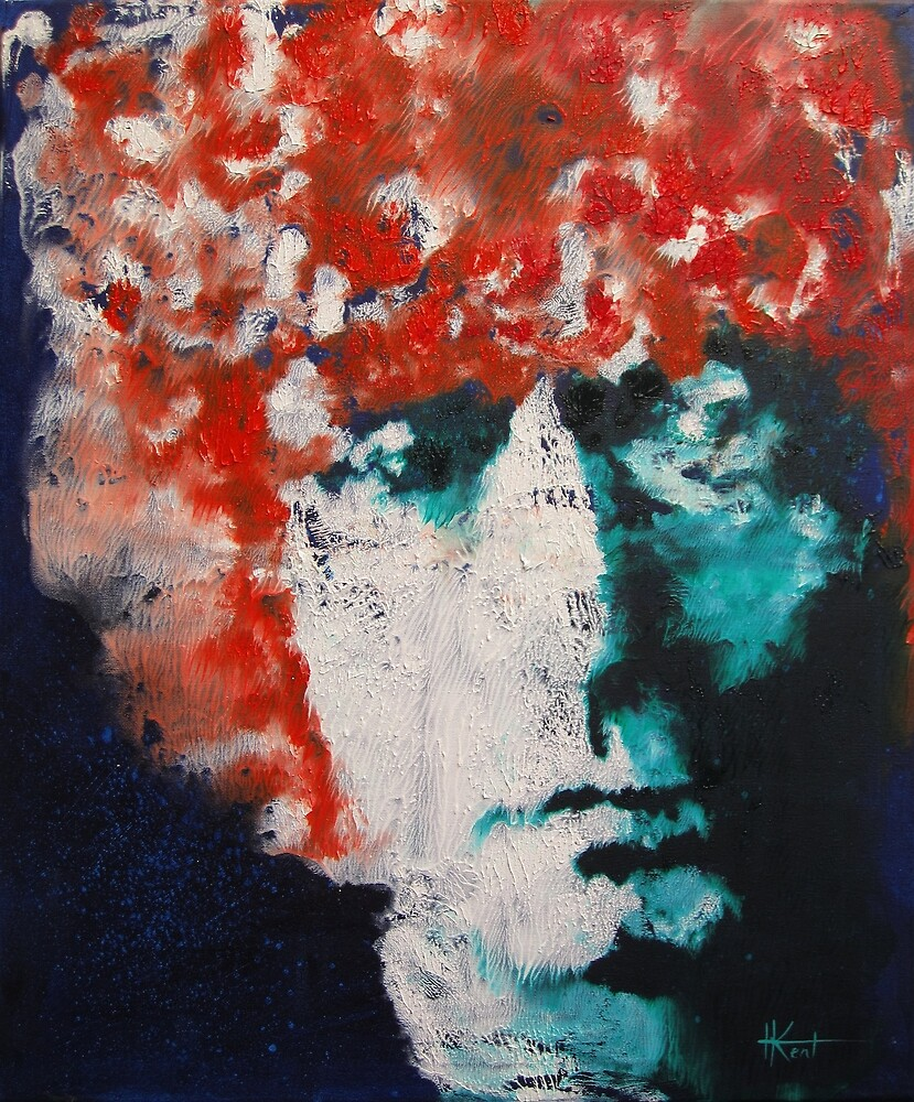 Brett Whiteley ponders fate by Harry Kent