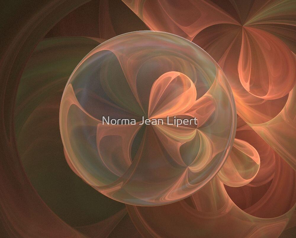 Loonie Ribbon Ball by Norma Jean Lipert