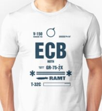 Rebel Echo Base ECB, Hoth Luggage Tag T-Shirt