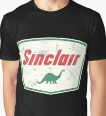 Vintage Sinclair logo Graphic T-Shirt
