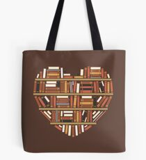 I Heart Books Tote Bag
