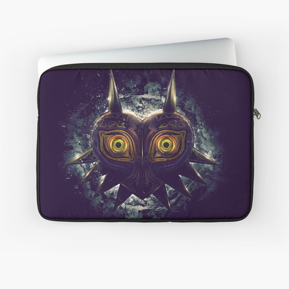 The Epic Evil of Majora's Mask Funda para portátil
