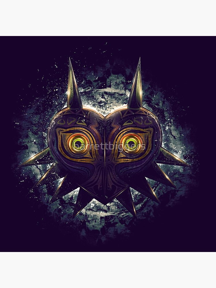 The Epic Evil of Majora's Mask de barrettbiggers