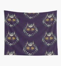 The Epic Evil of Majora's Mask Wall Tapestry
